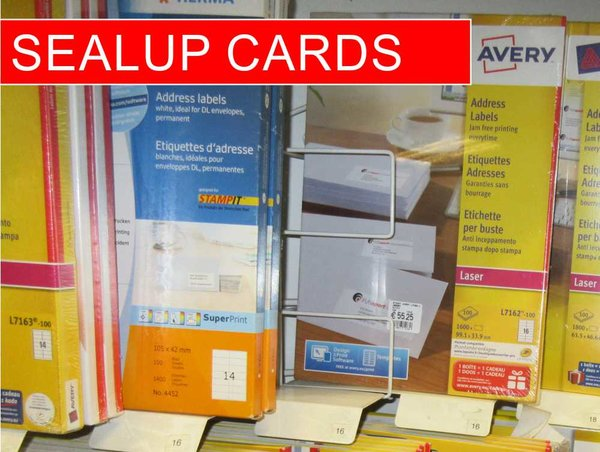 3L Sealup cards