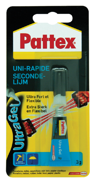 SECONDELIJM PATTEX ULTRAGEL 3GR